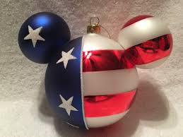 Mickey Mouse Flag Disney Mickey Mouse Stars U0026 Stripes Ornament Patriotic Unique For