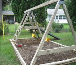 Backyard Swing Plans by How To Refinish A Wood Swing Set Stepbystep Electronics
