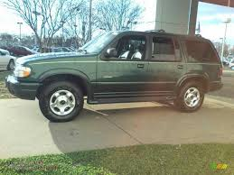 Ford Explorer Green - 1999 ford explorer limited 4x4 in charcoal green metallic photo