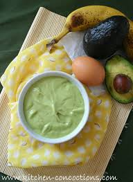 banana for hair avocado banana hair mask kitchen concoctions