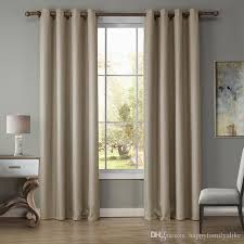 Grey Beige Curtains 2018 135 240cm Bedroom Curtains Blakout Window Curtain Shading