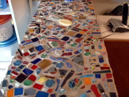 tile kitchen countertop ideas mosaic gem tiles kitchen countertops ideas for tile mosaic