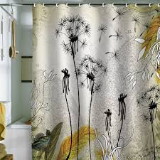 bathroom beautiful shower curtains modern designs with white silk
