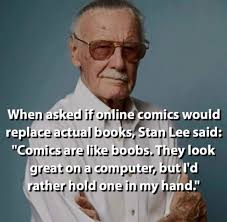 Funny Boob Memes - the great stan lee imgur