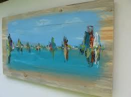 paintings on wood for sale coastal wall wood wallartideas info