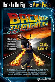 graphicriver back to the eighties movie poster templates4share