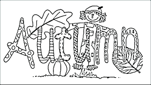 coloring page of fall free fall printable coloring pages printable autumn coloring pages