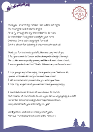 thank you letter from santa on christmas eve u2013 the little elf room