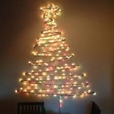 how to string lights on a tree christmas light tree the perfect christmas tree for your too small