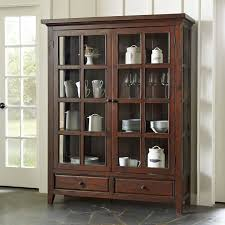 bookcases with doors you u0027ll love wayfair