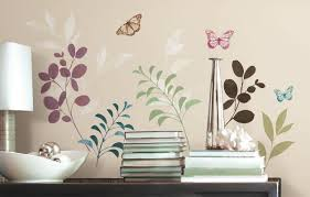 room mates deco botanical butterfly wall decal reviews wayfair default name