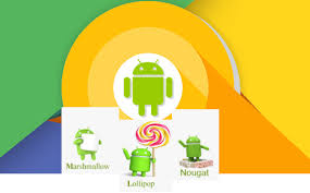 android lolipop android oreo vs android nougat vs android marshmallow vs lollipop