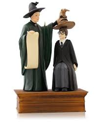 2014 harry potter the sorting hat hallmark ornament hooked on