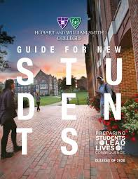student guide 2016 by hobart and william smith colleges issuu