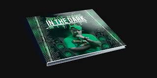 in the dark mixtape cd cover free psd template by klarensm on