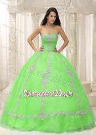 green quinceanera dresses strapless beading apple green quinceanera dresses with appliques