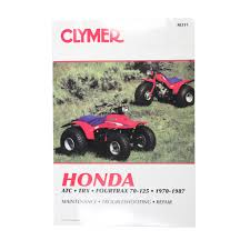motorcycle accessories supermarket clymer manuals honda