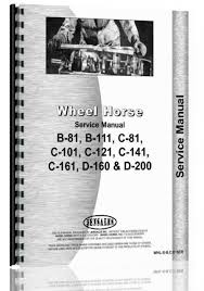 cheap wheel horse service manual find wheel horse service manual