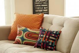Lumbar Decorative Pillows Fringed Sofa Pillows Decorative Throw Pillow Faux Leather Sofa