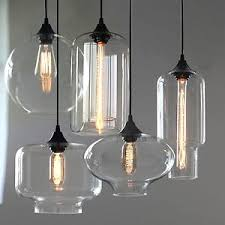glass pendant ceiling lights with new modern retro ls kitchen