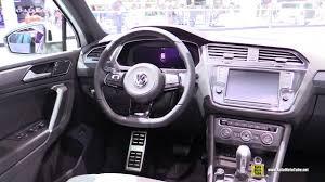volkswagen touareg 2017 interior 2017 volkswagen tiguan 2 0 tdi r line exterior interior