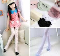 cute stockings 2018 cute cat girl tights children s sheer stockings for girls kids