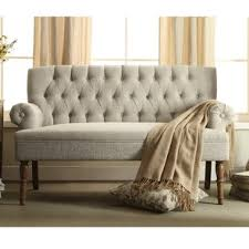 Living Room Settee Furniture Settees Settee Benches You Ll Wayfair