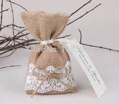 lace favor bags free shipping 50pcs lot size 10 x 16cm pretty wedding burlap lace