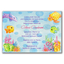 the sea baby shower invitations the sea baby shower invitations plumegiant