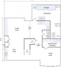 rambler house plans with finished basement by eplans rambler