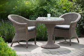Round Outdoor Bistro Chair Cushions by Dining Room Enchanting Dark Wrought Iron Outdoor Bistro Set 3