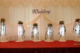 wedding backdrop prices 3m 6m wedding backdrop white beige color banquet curtains the