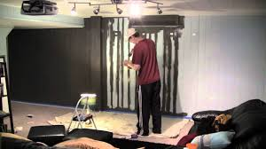 home theater wall home theater wall painting time lapse jurassic park theme song