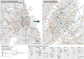 Copenhagen Map Copenhagen Public Transport Bus And Train Map