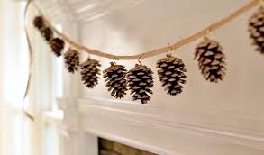 pinecone garland pinecone garland the diy fall decoration redeem your