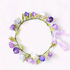 lilac flowers lilac and purple flowers wreath thedog