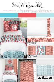Navy Blue And Coral Bedroom Ideas 60 Best Coral And Teal Bedding Images On Pinterest Teal Bedding