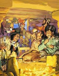 thanksgiving painting by angus mcbride