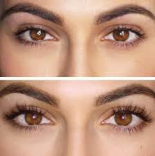 eyelash extension before and after beauty pinterest