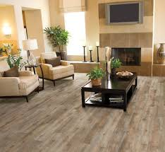 luxury vinyl tile coastal design style family room
