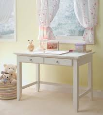 white wood small bedroom desks at room corner with drawer jpg with