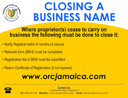 Closing A Business Email by Companies Office Ja On Twitter