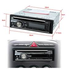 Cd Player With Usb Port For Cars In Dash Fm Aux Input Car Stereo Radio Audio Player Receiver Cd Dvd