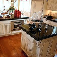 black granite kitchen island black granite kitchen island home design ideas and pictures