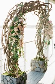 wedding arches branches curly willow branch wedding ceremony arch elizabeth designs