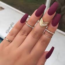 fashion long rings images Beautiful cool fashion gold long long nails matte nail jpg