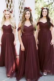 convertible bridesmaid dresses rosalie convertible dress in tulle bridesmaid dresses revelry