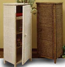 Rattan Bathroom Furniture Spacious Wicker Bathroom Cabinets Bathroom Best References Home