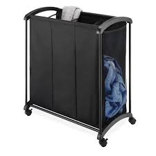 Laundry Divider Hamper by 3 Compartment Laundry Sorter
