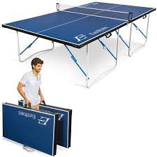dunlop easy fold outdoor table tennis table walmart com